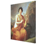Madame de Stael as Corinne, 1809 Canvas Prints