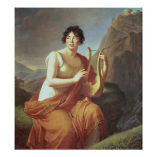Madame de Stael as Corinne, 1809 Poster