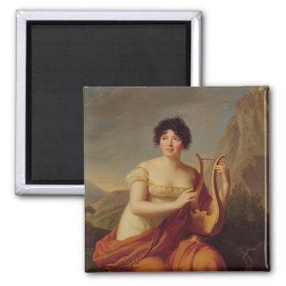 Madame de Stael as Corinne Magnet