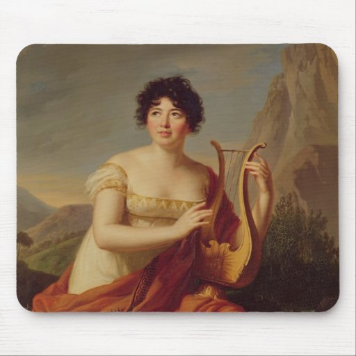 Madame de Stael as Corinne Mouse Pad
