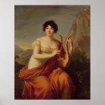 Madame de Stael as Corinne Print