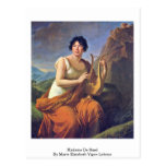 Madame De Stael By Marie Elisabeth Vigee-Lebrun Postcard