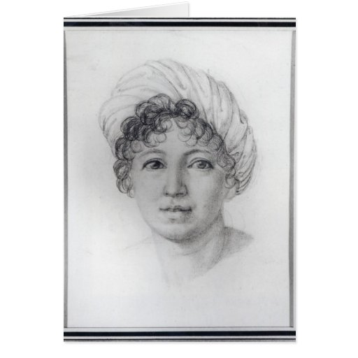 Madame de Stael Greeting Card