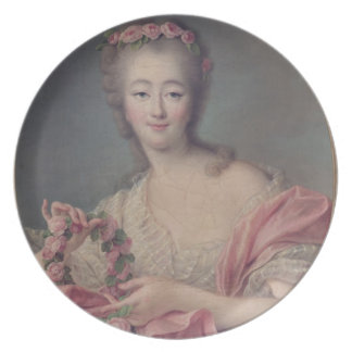 Madame du Barry, 1770 Melamine Plate