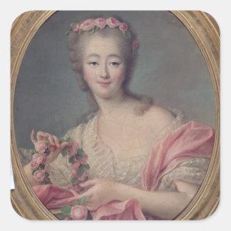 Madame du Barry, 1770 Square Sticker
