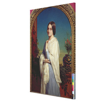 Madame Edouard Dubufe 1842 Stretched Canvas Print