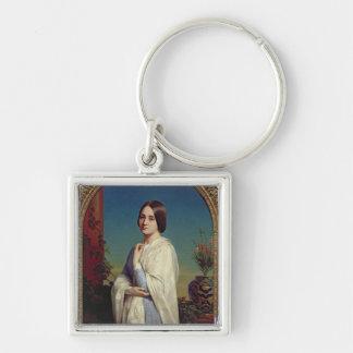 Madame Edouard Dubufe  1842 Keychain