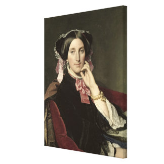 Madame Gonse, 1852 Canvas Print