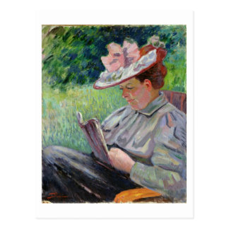 Madame Guillaumin, c.1895 (oil on canvas) Postcard