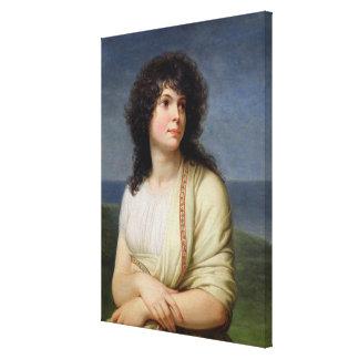 Madame Hamelin Canvas Print