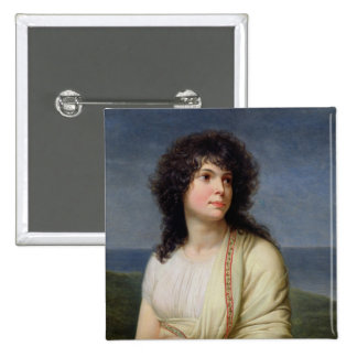 Madame Hamelin Pinback Button