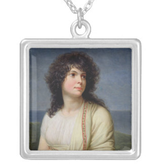 Madame Hamelin Square Pendant Necklace