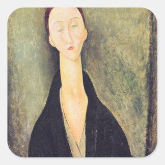 Madame Hanka Zborowska, 1918 Square Stickers