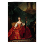 Madame Henriette de France  in Court Greeting Cards