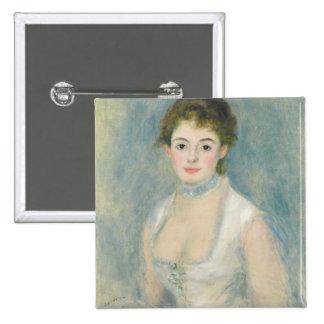 Madame Henriot, c.1876 (oil on canvas) Button