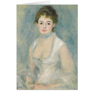 Madame Henriot, c.1876 (oil on canvas) Card