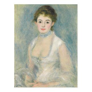 Madame Henriot, c.1876 (oil on canvas) Postcard