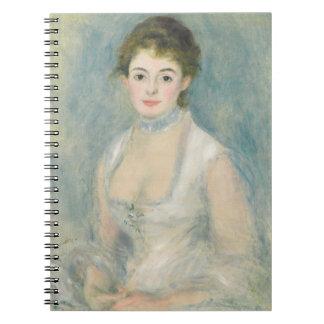 Madame Henriot, c.1876 (oil on canvas) Spiral Notebook