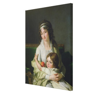 Madame Jeanne-Justine Boyer-Fonfrede and her Canvas Print