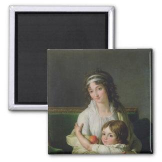 Madame Jeanne-Justine Boyer-Fonfrede and her Magnet