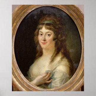 Madame Jeanne-Marie Roland de la Platiere   1792 Poster