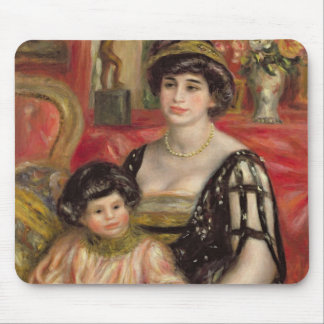 Madame Josse Bernheim-Jeune and her Son Henry Mouse Pad