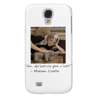 Madame Lisette iPhone 3G/3GS Case Galaxy S4 Cover