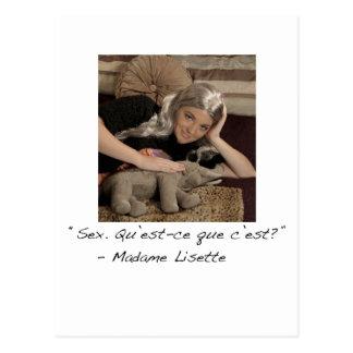 Madame Lisette Postcard