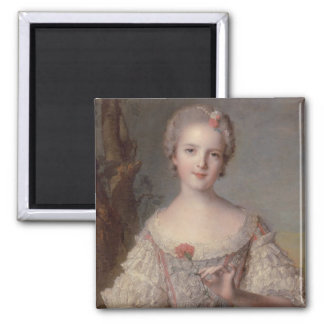 Madame Louise 2 Inch Square Magnet