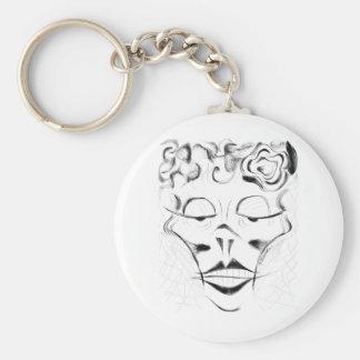 Madame Macabre Keychain