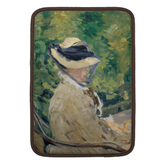 Madame Manet at Bellevue - Édouard Manet MacBook Sleeve