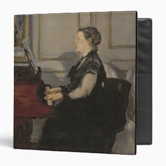 Madame Manet at the Piano, 1868 Vinyl Binders