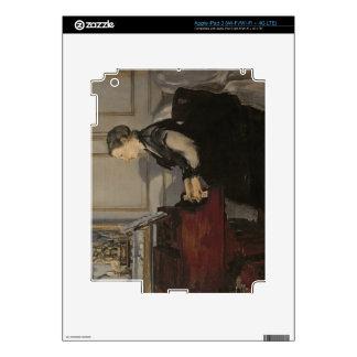 Madame Manet at the Piano 1868 iPad 3 Decal