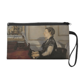 Madame Manet at the Piano, 1868 Wristlet
