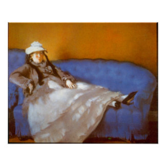 Madame Manet by Edouard Manet Print