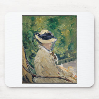 Madame Manet (Suzanne Leenhoff, 1830–1906) Mouse Pad