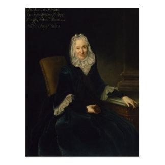 Madame Marte de Rocoulle, c.1735 Postcard