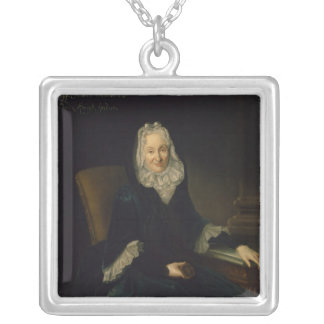 Madame Marte de Rocoulle, c.1735 Silver Plated Necklace