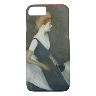 Madame Marthe Letellier Sitting on a Sofa iPhone 8/7 Case