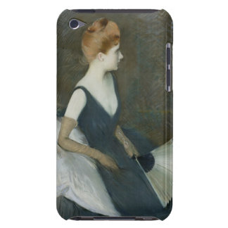 Madame Marthe Letellier Sitting on a Sofa iPod Touch Cases