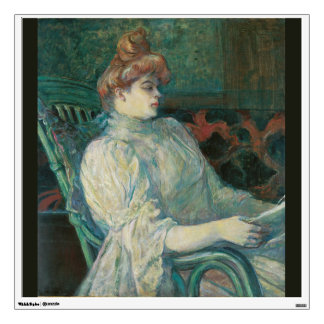 Madame Marthe X by Henri de Toulouse-Lautrec Wall Sticker