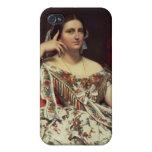 Madame Moitessier, 1856 iPhone 4/4S Case