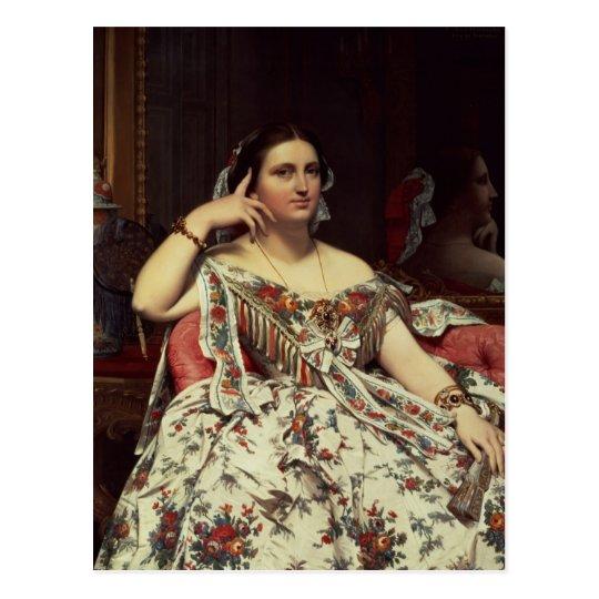 Madame Moitessier, 1856 Postcard