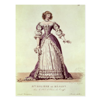 Madame Moliere, nee Armande Bejart Postcard