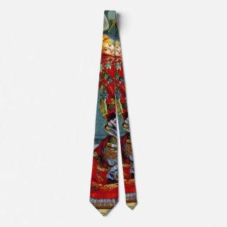 Madame Monet 1876 Neck Tie