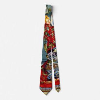 Madame Monet 1876 Tie