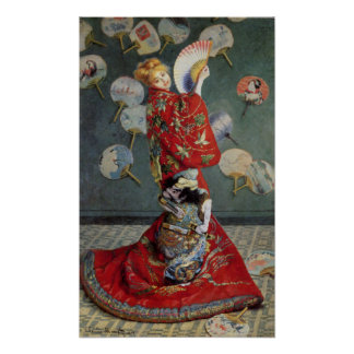 Madame Monet Poster