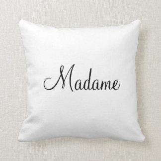 Madame pillow