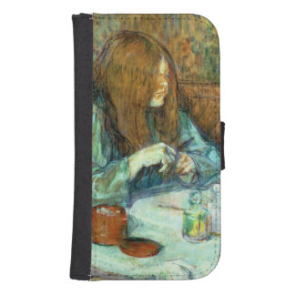 Madame Poupoule at her Toilet, 1898 Galaxy S4 Wallet Case