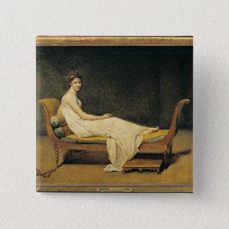 Madame Recamier, 1800 Button
